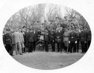 PO - 00338 - Foto vysviacka striekačky Lemešany rok 1935 uprava