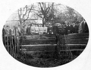 PO - 339 Foto vysviacka striekačky Lemešany r. 1935 uprava